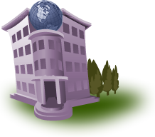 Illustration represents Geography Section of the Virtual Campus.