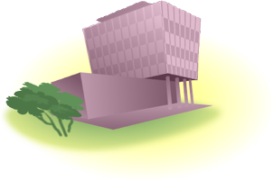 Illustration representing the Social Sciences section of the virtual campus.