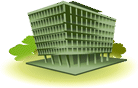 An illustration representing the information technology resources section of the website.